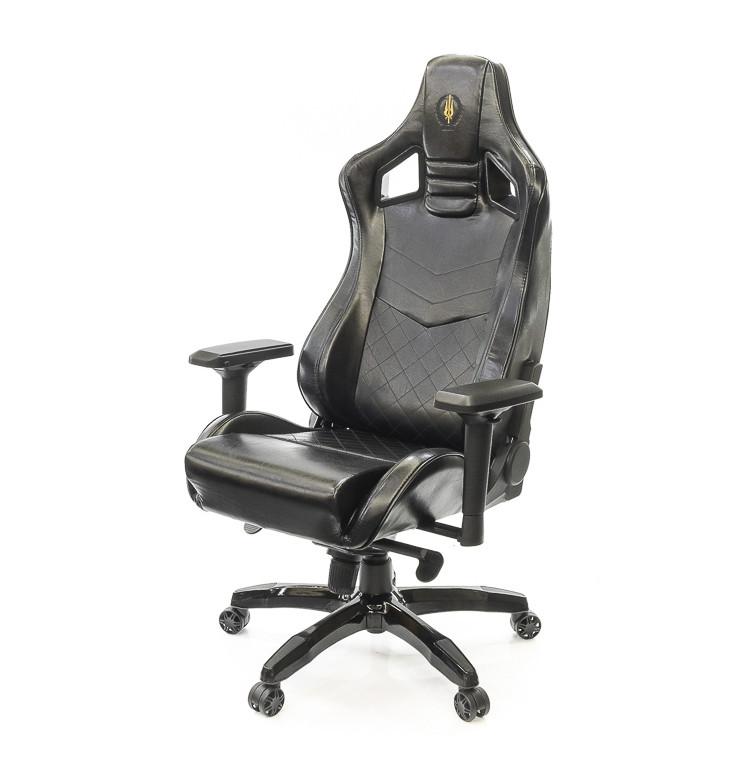 Кресло Ретчет • АКЛАС • PL MB чёрный, серый, коричневый