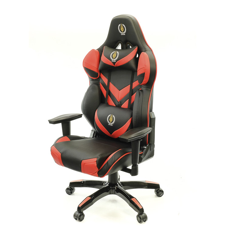 Кресло Скреппер • АКЛАС • PL RL чёрно-красный, чёрно-синий