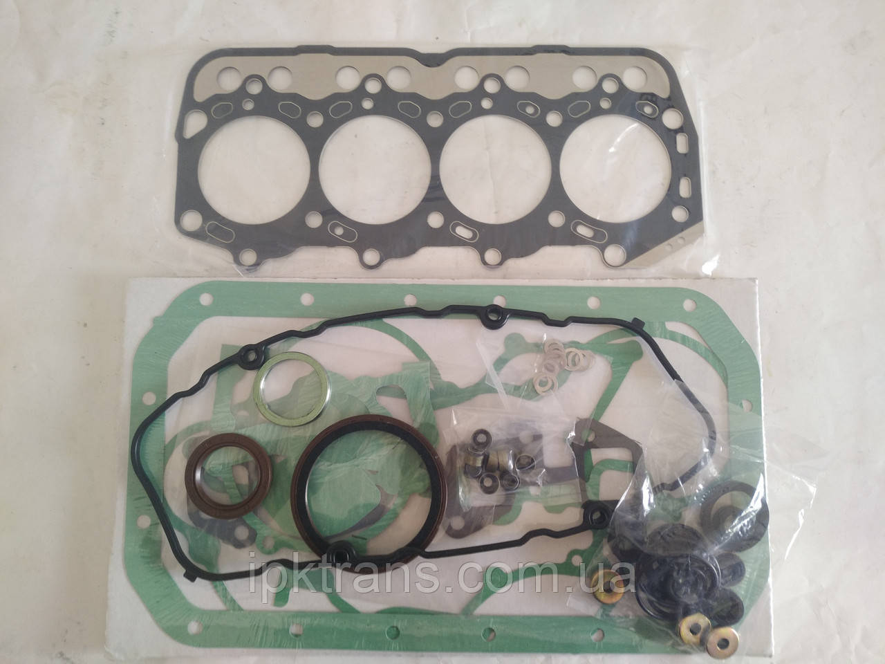 Набор прокладок двигателя TOYOTA 1DZ2  Железо (2340 грн)  04111-20321-71 / 041112032171