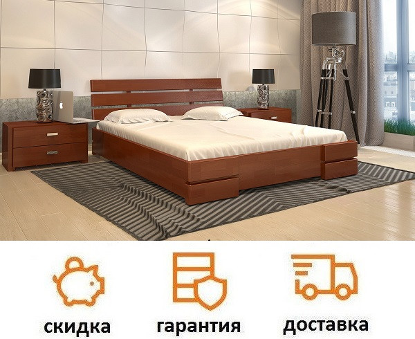 Кровать Дали Люкс фабрика Арбор Древ