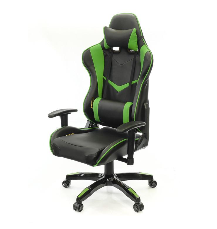 Кресло Скидс • АКЛАС • PL RL чёрно-зелёный и черно-синий