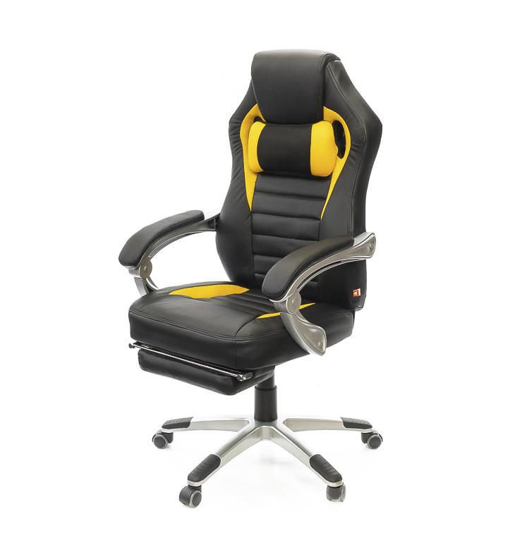 Кресло Стрендж • АКЛАС • PL SR чёрно-жёлтый