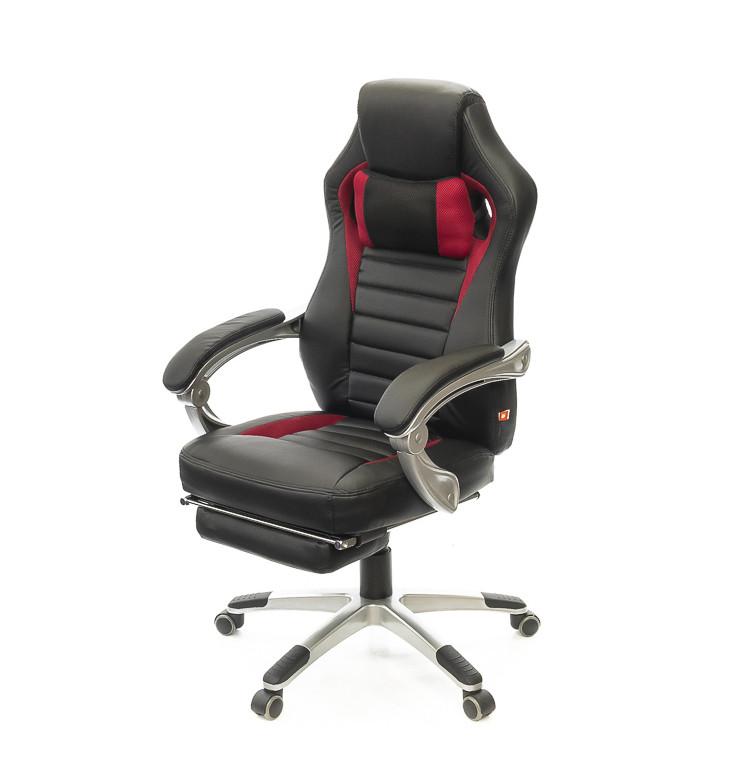 Кресло Стрендж • АКЛАС • PL SR чёрно-красный