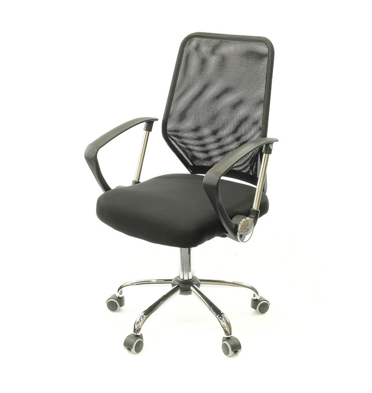 Кресло Тета • АКЛАС • CH PR чёрный, серый