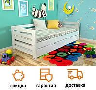 Детская кровать из натурального дерева Немо, фабрика Арбор Древ