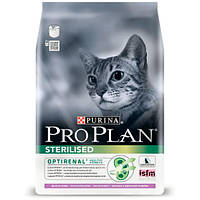 Pro Plan Cat Sterilised сухой корм для стерилизованных кошек с индейкой, 400 г