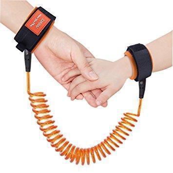 Ремешок наручный поводок для ребенка Child anti lost strap, Поводок-манжеты для детей, Поводок пружина детский