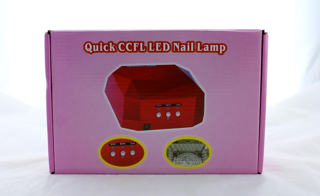 Сушилка для ногтей Beauty nail CCF + LED, Лампа для сушки лака и гель лака, Гибридная УФ лампа для ногтей 36 В