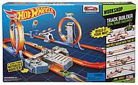 Хот Вилc Двойное ускорение Hot Wheels Track Builder Total Turbo Takeover Track Set