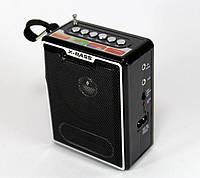 Переносное Радио NS 047, Акустическая колонка, Радиоприемник, Портативная колонка, Мини радио, фото 1