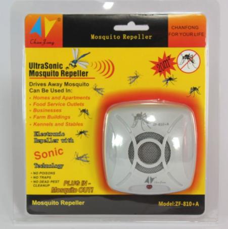 Отпугиватель от комаров ZF810A от сети 220V, Ультразвуковой отпугиватель комаров, Отпугивание насекомых