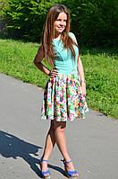 """Молодежное нарядное платье """"Астра"""", фото 1"""