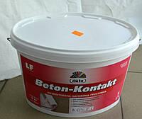 Грунтовка адгезионная пигментированная Beton-Kontakt Dufa 5 кг