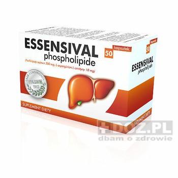 Эссенциале Essentiale  Ессентіале Фосфоліпіды фосфолипиды 300мг для печени. детоксикации 50капс. Польша