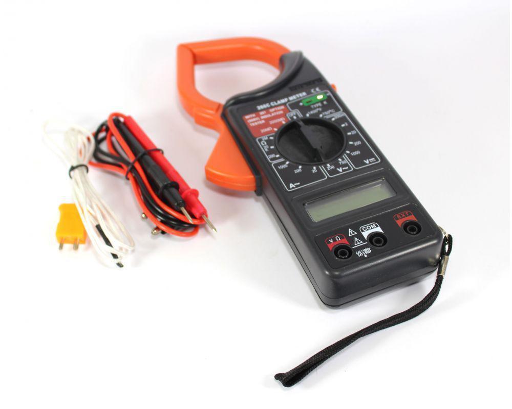 Клещи токоизмерительные, Мультиметр DT 266, Токовые цифровые клещи, Цифровой измеритель с клещами