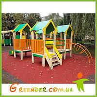 """Игровой комплекс """"мини"""" уличный для детей"""