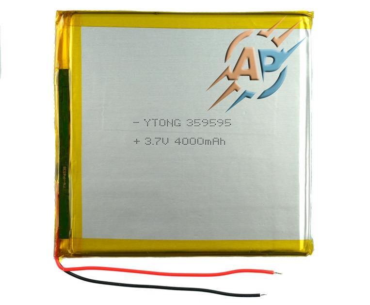 Аккумулятор 4000mAh 3.7v 359595 для планшета