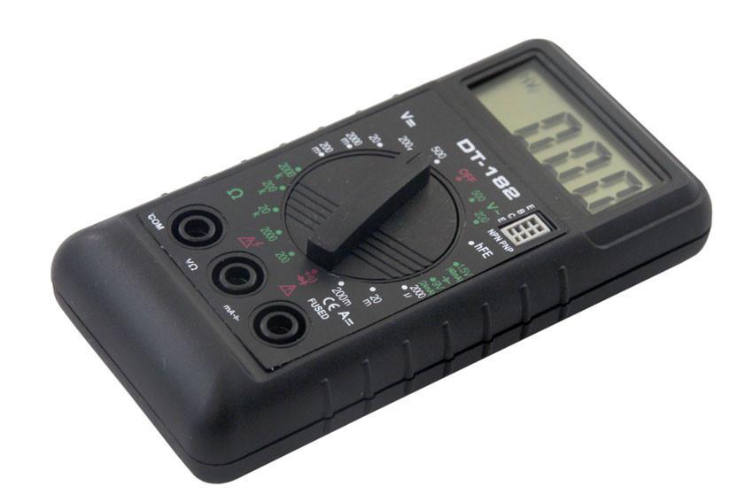 Мультиметр DT 182,  Цифровой мультиметр, Тестер, Амперметр, Омметр, Вольтметр,Измерительный прибор
