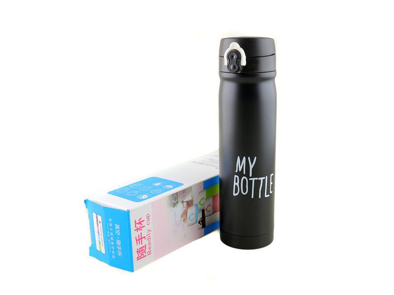 Термос 9036-500, Термокружка, My Bottle термос 500 мл, Компактный термос, Вакуумный термос туристический 0.5 л