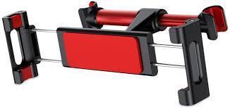 ✅ Держатель для планшета на подголовник Baseus Back seat black/red