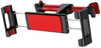✅ Держатель для планшета на подголовник Baseus Back seat black/red, фото 2