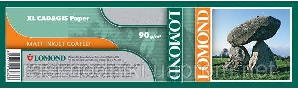 Фотобумага Lomond матовая 90 г/м² рулон 610 мм х 45 метров