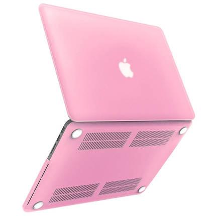 """Чехол накладка DDC пластик для MacBook Pro 13"""" (2016/2017/2018) matte pink, фото 2"""