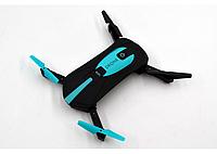 Портативный квадрокоптер селфи-дрон JY018, Карманный дрон с камерой, Квадрокоптер складной мини для селфи, фото 1