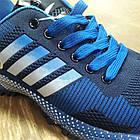 Кроссовки Bonote текстиль сетка синие р.44, фото 5
