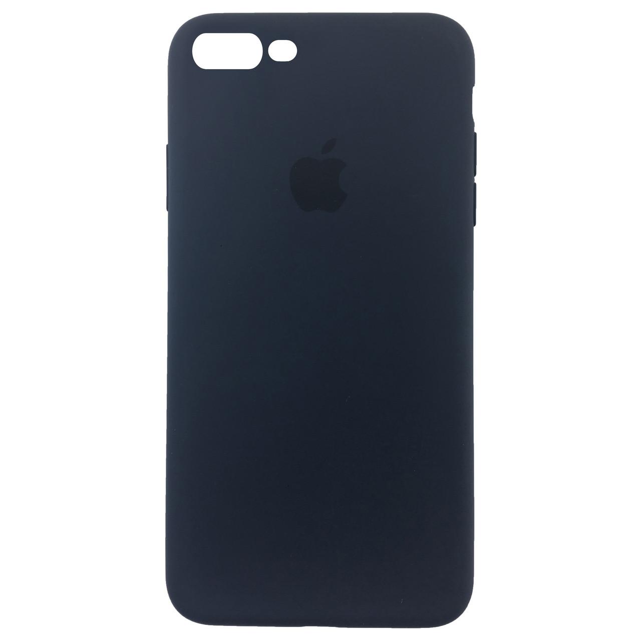 ✅ Чехол накладка xCase для iPhone 7 Plus/8 Plus Silicone Slim Case Midnight Blue