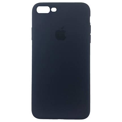 ✅ Чехол накладка xCase для iPhone 7 Plus/8 Plus Silicone Slim Case Midnight Blue, фото 2