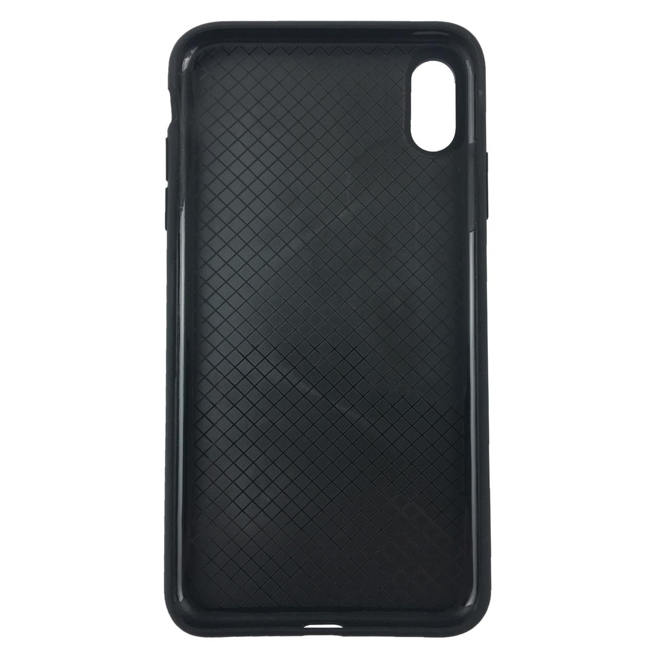 Чехол накладка xCase для iPhone X/XS Silicone Slim Case Black