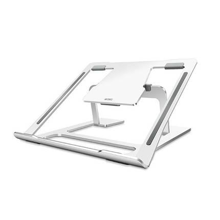 ✅ Подставка WIWU Laptops S100 New для MacBook/iPad 11.6''-15.4'' silver, фото 2