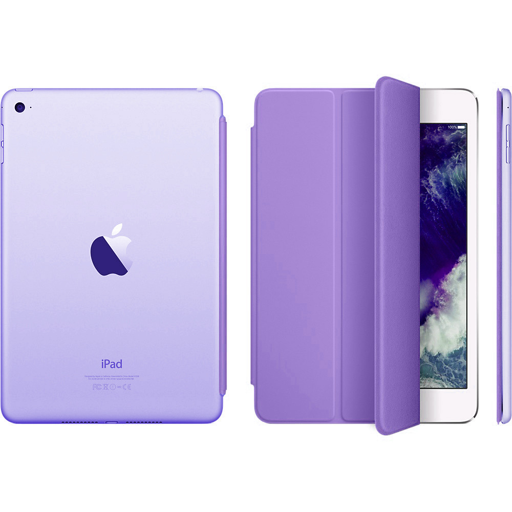Чехол Smart Cover matte для iPad mini 3/2/1 purple