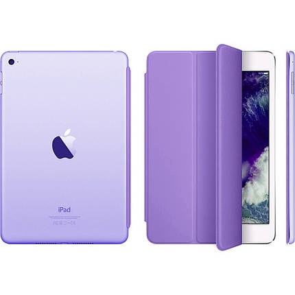 Чехол Smart Cover matte для iPad mini 3/2/1 purple, фото 2