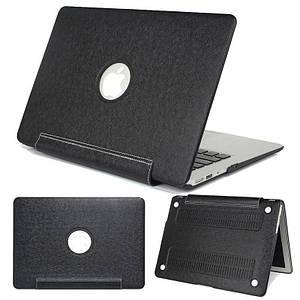 "✅ Чехол накладка DDC PU для MacBook 12"" black"