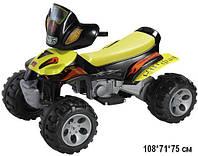 Детский квадроцикл Tilly YQ505 (T-735), Желтый