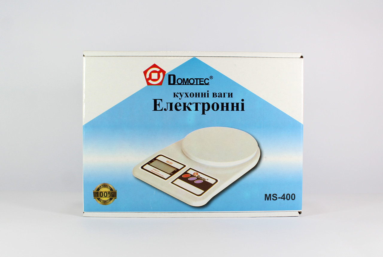 Весы ACS MS 400 до 10kg Domotec, Кухонные Весы, Электронные весы, Весы на кухню, Электронные весы до 10 кг
