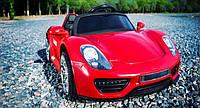 Детский электромобиль Tilly T-767 Porsche, красный