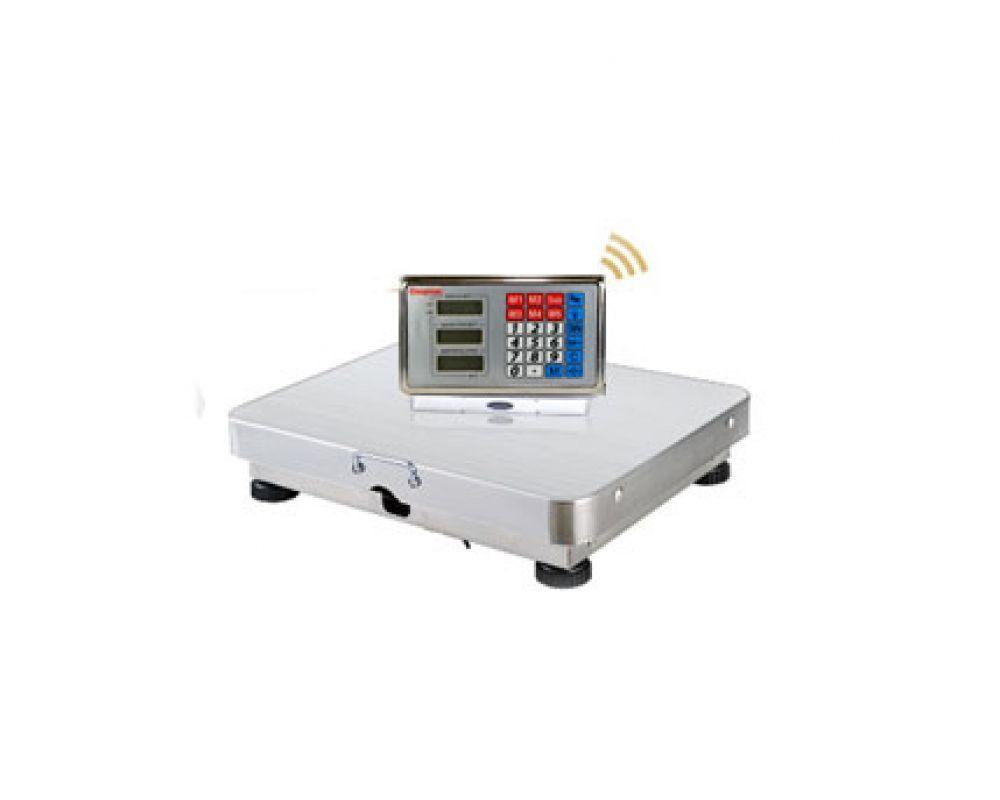 Весы ACS 200KG WIFI 35*45, Беспроводные платформенные весы, Весы с ЖК дисплеем, Весы с аккумуляторной батареей