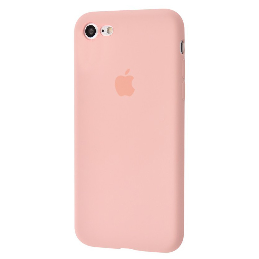 Чехол накладка xCase для iPhone 6/6s Silicone Slim Case Pink Sand