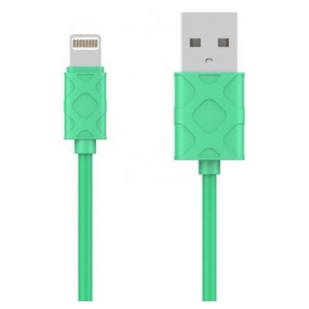 USB кабель Baseus Lightning Yaven 2.1A, 1m. Green