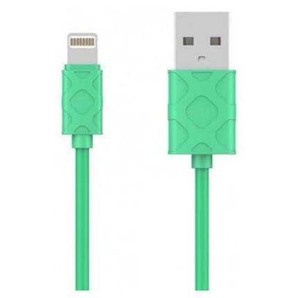 USB кабель Baseus Lightning Yaven 2.1A, 1m. Green, фото 2