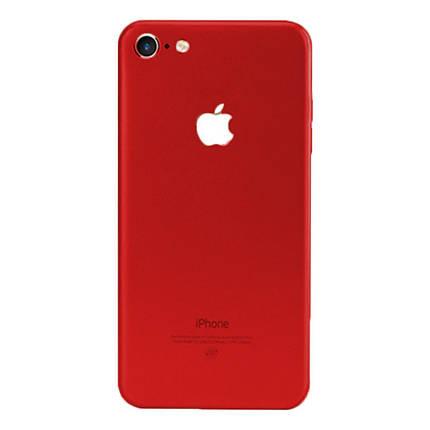 ✅ Защитная пленка на заднюю панель для iPhone 7 Plus/8 Plus красная, фото 2