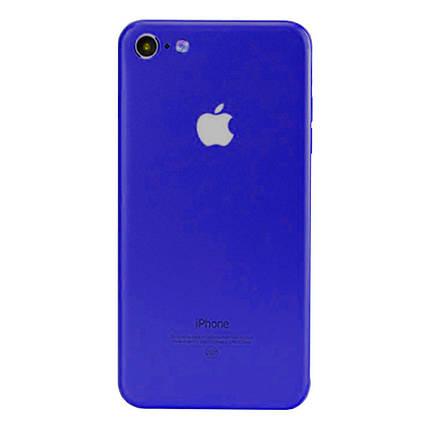 ✅ Защитная пленка на заднюю панель для iPhone 6 Plus/6s Plus синяя, фото 2