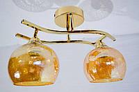Люстра потолочная на 2 лампочки P3-1113d/2F, фото 1