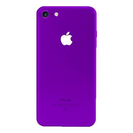 ✅ Защитная пленка на заднюю панель для iPhone 7/8 Purple, фото 2