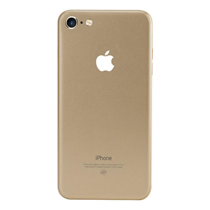 ✅ Защитная пленка на заднюю панель для iPhone 7/8 золотая