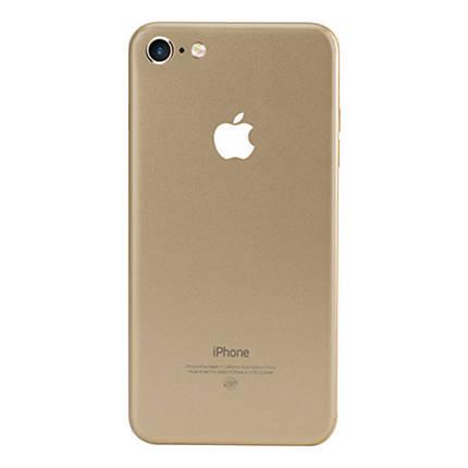 ✅ Защитная пленка на заднюю панель для iPhone 7/8 золотая, фото 2