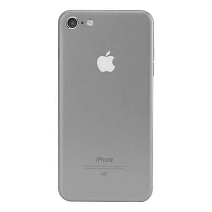 ✅ Защитная пленка на заднюю панель для iPhone 6/6s серебряная, фото 2